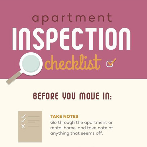 Apartment Moving Inspection Guide